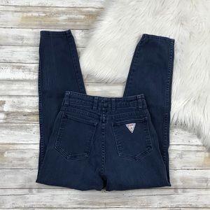Vintage High Waist Slim Fit Mom Jeans